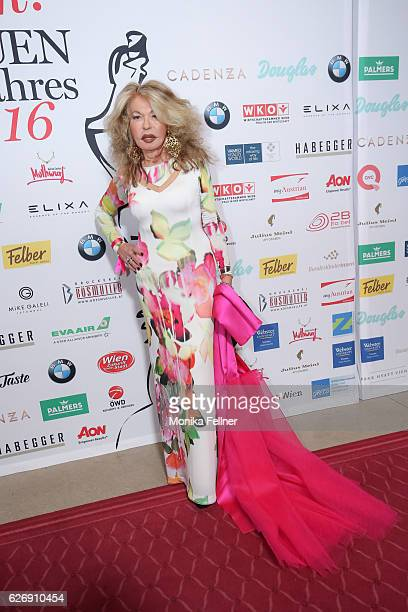 Jeannine Schiller attends the Look Women of the Year Awards at City Hall on November 30, 2016 in Vienna, Austria.