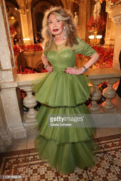 Jeannine Schiller during the Opera Ball Vienna at Vienna State Opera on February 28 2019 in Vienna Austria