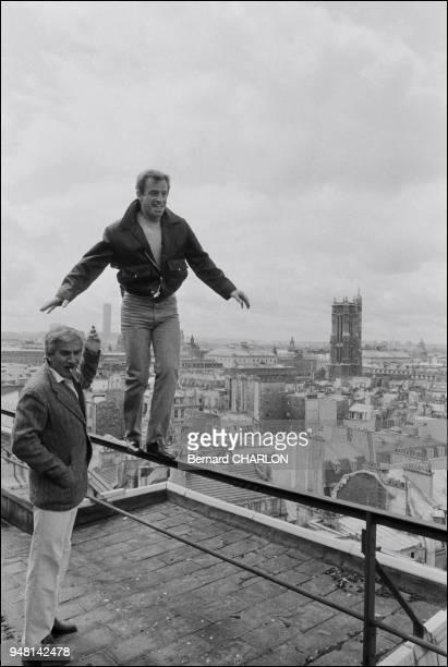 JeanPaul Belmondo and brother Alain