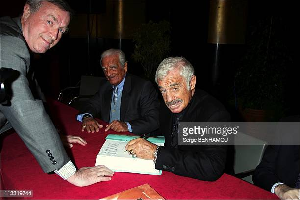 JeanPaul Belmondo And His Brother Alain Make A Donation Of Their Father Sculptor Paul Belmondo Complete Work To The City Of Boulogne Billancourt...