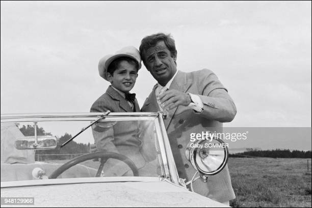 JeanPaul Belmondo and Rachid Ferrache