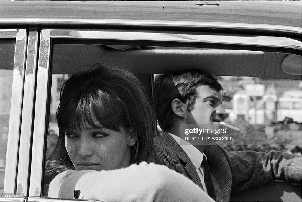 """Shooting """"Pierrot Le Fou"""" In France In June, 1965 : News Photo"""