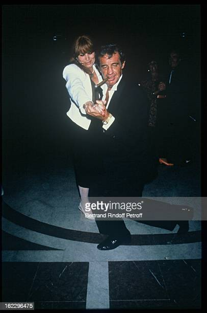 JeanPaul Belmondo dancing at his daughter Patricia's wedding in 1986