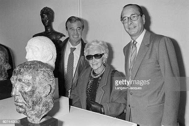 JeanPaul Belmondo Opening Father's Sculpture Exhibition