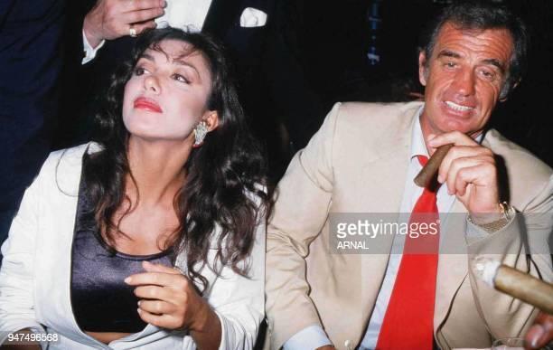 JeanPaul Belmondo with Carlos Sotto Mayor 1986