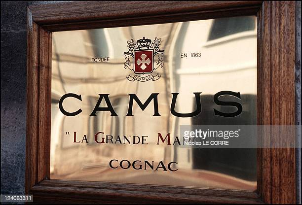 JeanPaul Camus the President and Master Blender for Camus cognac in his family mansion and domain In France On March 27 1997
