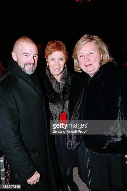 JeanPaul Cluzel Dance Director of the 'Opera de Paris' Brigitte Lefevre and Maryvonne Pinault attend the 'Nuit De La Chine' Opening Night at Grand...