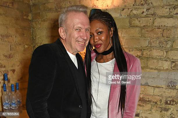 JeanPaul Gaultier and Naomi Campbell attend The Fashion Awards in partnership with Swarovski nominees' lunch hosted by the British Fashion Council...