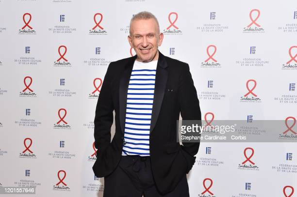 JeanPaul Gaultier attends Sidaction Gala Dinner 2020 At Pavillon Cambon on January 23 2020 in Paris France