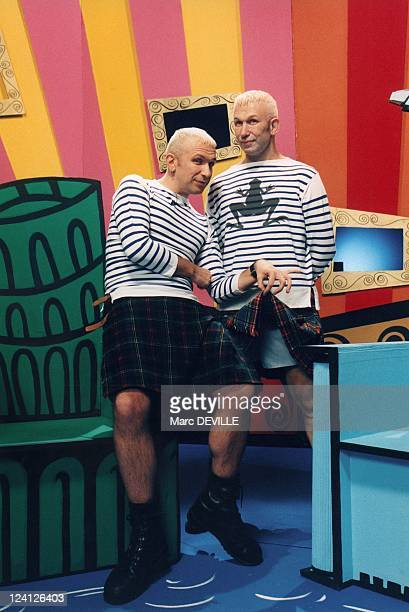 JeanPaul Gaultier tapes new series of Eurotrash for Britain' s Channel 4 In Paris France On April 04 1996