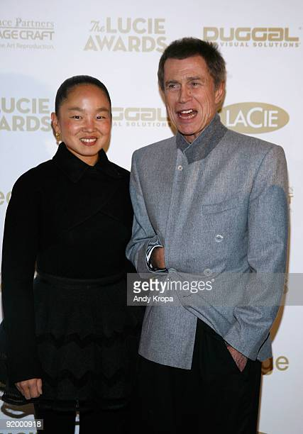 JeanPaul Goude and Karen Goude attend the 7th annual Lucie Awards at Alice Tully Hall Lincoln Center on October 19 2009 in New York City