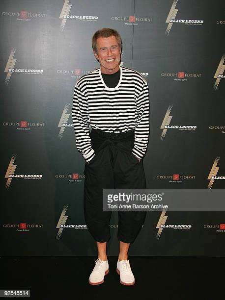 JeanPaul Goude attends the Black Legend opening party on October 29 2009 in MonteCarlo Monaco