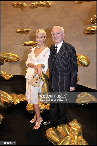Jean-Paul Guerlain and Kristina de Kragh at Guerlain Celebrates Its 180th Anniversary With The Launch Of New Men's Fragrance At Rodin Museum.