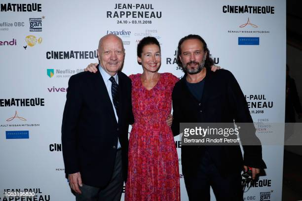 JeanPaul Rappeneau Anne Brochet and Vincent Perez attend the JeanPaul Rappeneau's Retrospective with the screening of the movie Cyrano de Bergerac at...