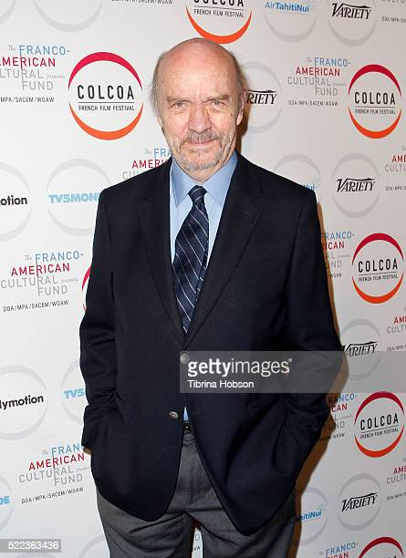 JeanPaul Rappeneau attends opening night of the 20th annual COLCOA French Film Festival at Directors Guild of America on April 18 2016 in Los Angeles...