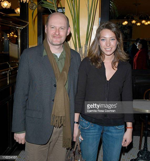 JeanPaul Salome and Laura Smet during Rendezvous with French Cinema 2005 Press Luncheon in New York City at La Cote Basque in New York City New York...