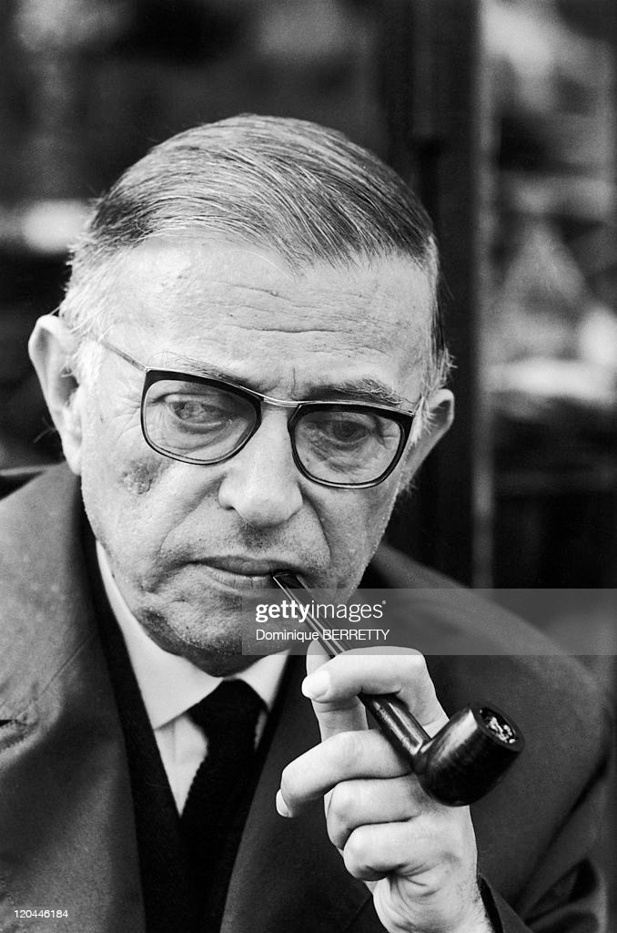 Jean-Paul Sartre In 1966 - : ニュース写真