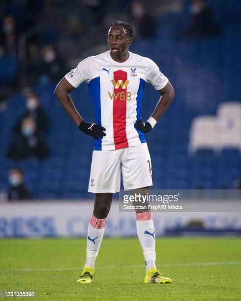 Jean-Philippe Mateta of Crystal Palace during the Premier League match between Brighton & Hove Albion and Crystal Palace at American Express...