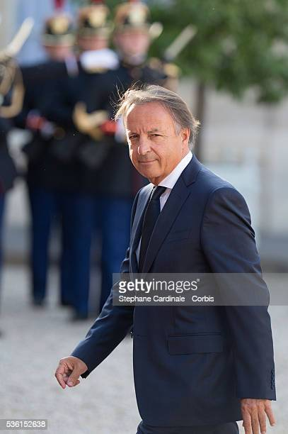 JeanPierre Bel arrives for the State Dinner at the State Dinner offered by French President François Hollande at the Elysee Palace on June 2 2015 in...
