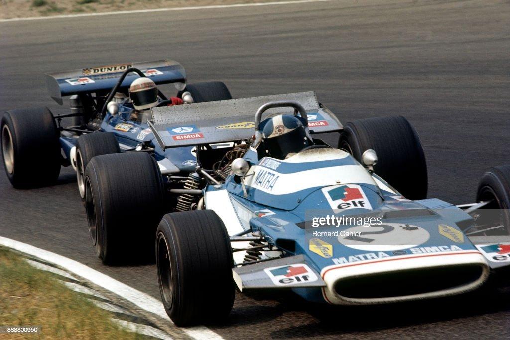 Jean-Pierre Beltoise, Jackie Stewart, Grand Prix Of The Netherlands : News Photo