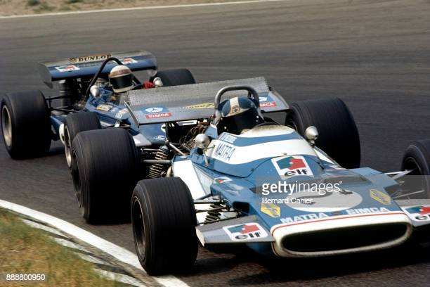 JeanPierre Beltoise Jackie Stewart Matra MS120 MarchFord 701 Grand Prix of the Netherlands Circuit Park Zandvoort 21 June 1970
