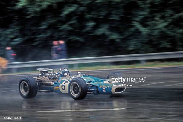 JeanPierre Beltoise Matra MS11 Grand Prix of France RouenLesEssarts 07 August 1968