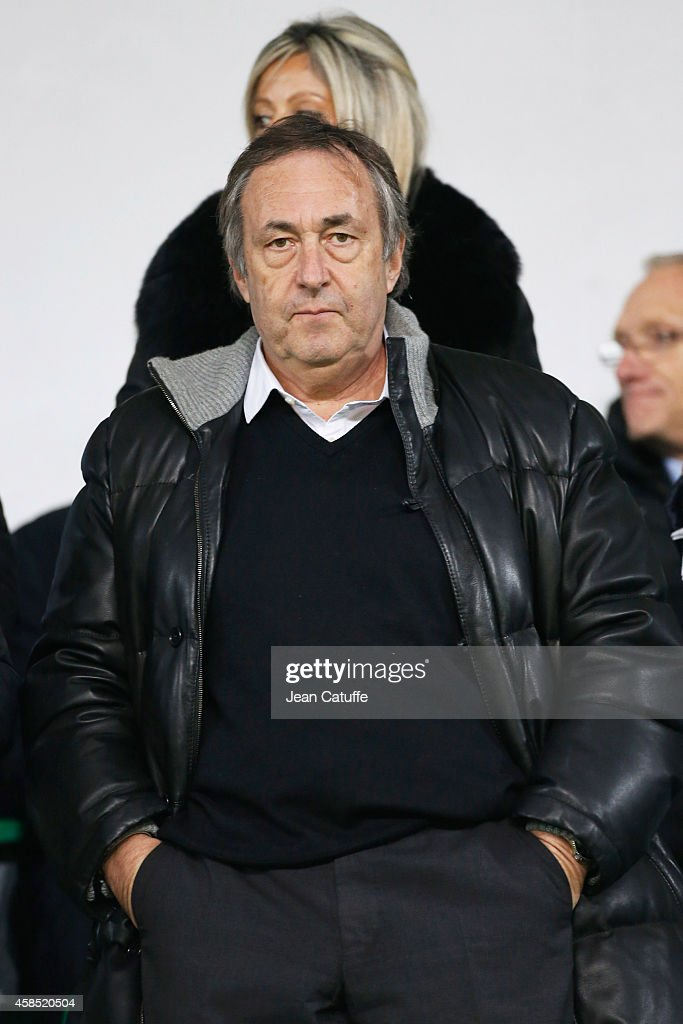 Jean-Pierre Bernes attends the UEFA Europa League Group F match between AS Saint-Etienne and FC Internazionale Milano on November 6, 2014 in Saint-Etienne, France.