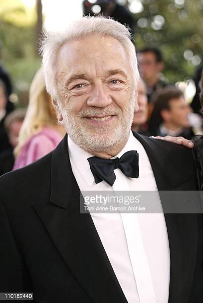 JeanPierre Cassel during 2003 Cannes Film Festival 'Tulse Luper Suitcases' Premiere at Palais des Festivals in Cannes France
