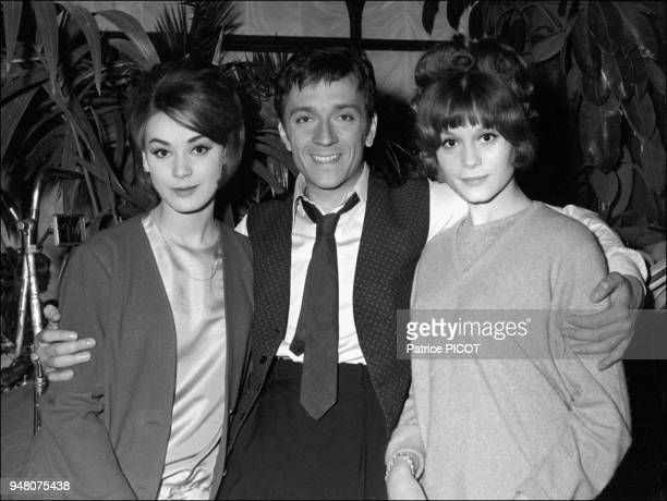 JeanPierre Cassel with Francoise Dorleac and Genevieve Grad