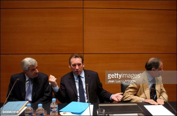JeanPierre Chevenement Francois Bayrou Noel Mamere