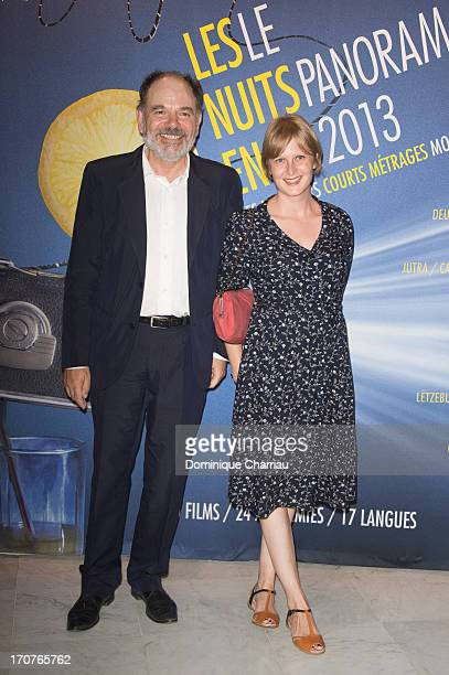 JeanPierre Daroussin and Anna Novion attend 'The Panorama 2013' photocall hosted by Academie des Cesar at UNESCO on June 17 2013 in Paris France