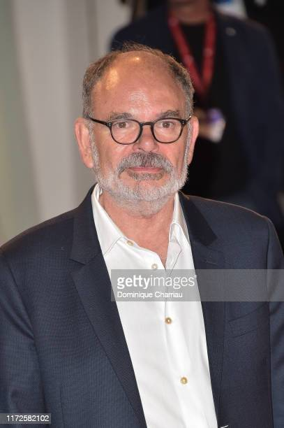 """Jean-Pierre Daroussin walks the red carpet ahead of the """"Gloria Mundi"""" screening during the 76th Venice Film Festival at Sala Grande on September 05,..."""