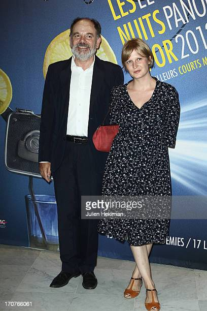 JeanPierre Darroussin and Anna Novion attend 'The Panorama 2013' photocall hosted by Academie des Cesar at UNESCO on June 17 2013 in Paris France