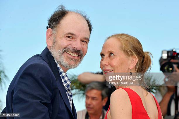 JeanPierre Darroussin and Kati Outinen at the photo call for 'Le Havre' during the 64th Cannes International Film Festival