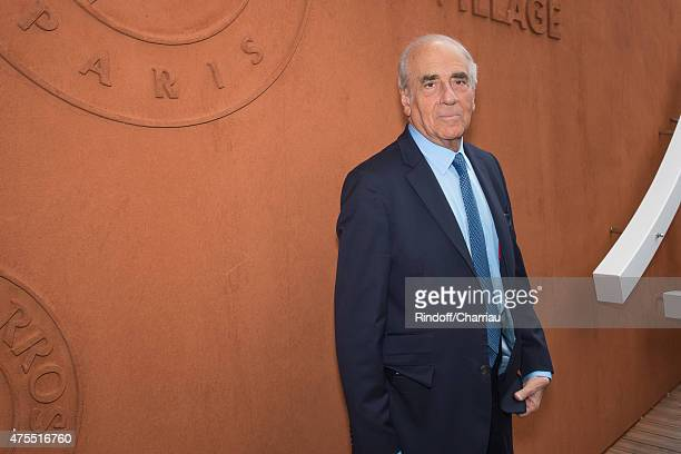 JeanPierre Elkabach attends the Roland Garros French Open at Roland Garros on June 1 2015 in Paris France