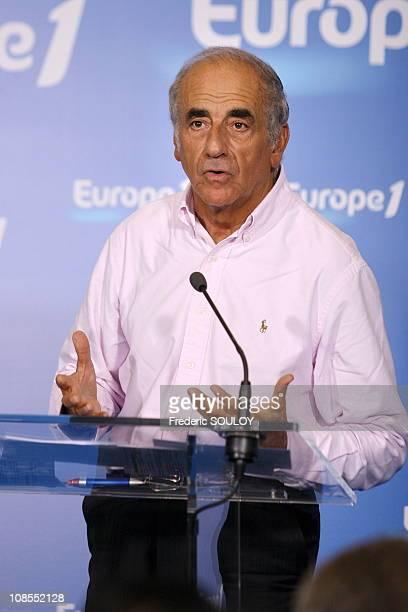 JeanPierre Elkabbach in Paris France on September 05 2006