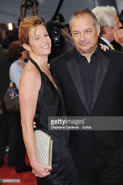 JeanPierre Jeunet and his wife attend a tribute in honor of Harrison Ford at the 35th Deauville American Film Festival