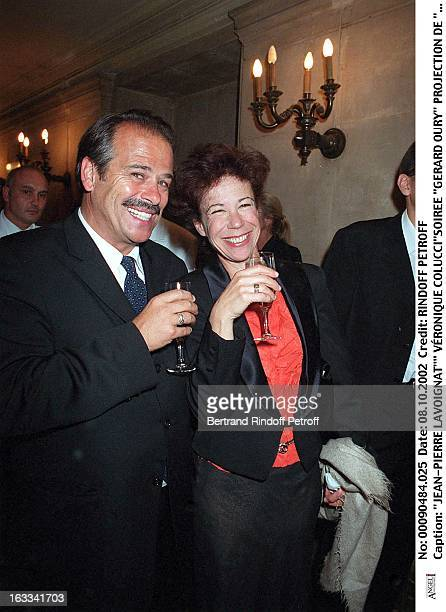 JeanPierre Lavoignat' Veronique Colucci'Gerard Oury' film screening of 'La Grande Vadrouille' at the Garnier opera