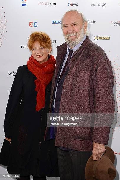 JeanPierre Marielle and his wife Agathe Natanson attend The Lumiere Le Cinema Invente exhibition preview on March 26 2015 in Paris France