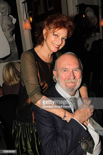 JeanPierre Marielle and his wife Agathe NatansonMarielle attend 'La Petite Maison De Nicole' Inauguration Cocktail at Hotel Fouquet's Barriere on...