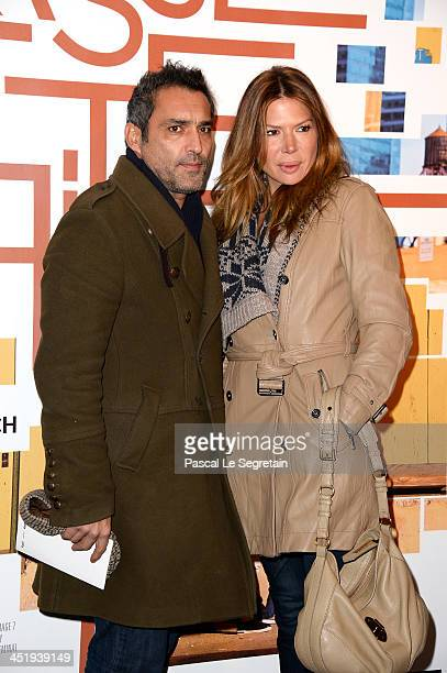 JeanPierre Martins and Alexandra Genoves attend the 'Casse Tete Chinois' Premiere at Cinema UGC Normandie on November 25 2013 in Paris France