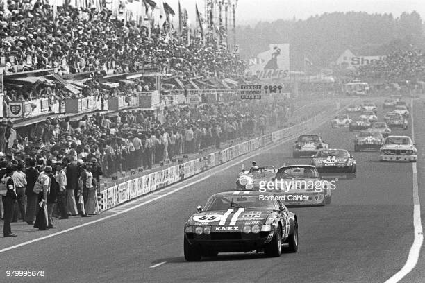 JeanPierre Paoli Ferrari 365 GTB/4 Daytona 24 Hours of Le Mans Le Mans 16 June 1974
