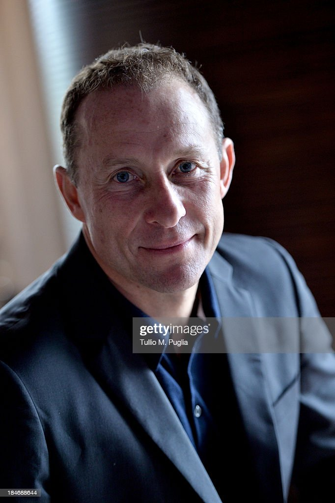 Jean-Pierre Papin poses for a portrait shoot prior to the 2013 Golden Foot Award on October 15, 2013 in Monte-Carlo, Monaco.