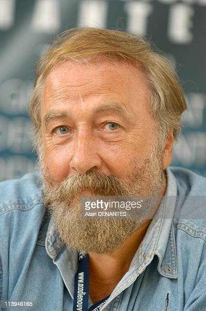 JeanPierre Pichard Interceltique Festival director In Lorient France On July 31 2004JeanPierre Pichard director of the Festival Interceltique in...
