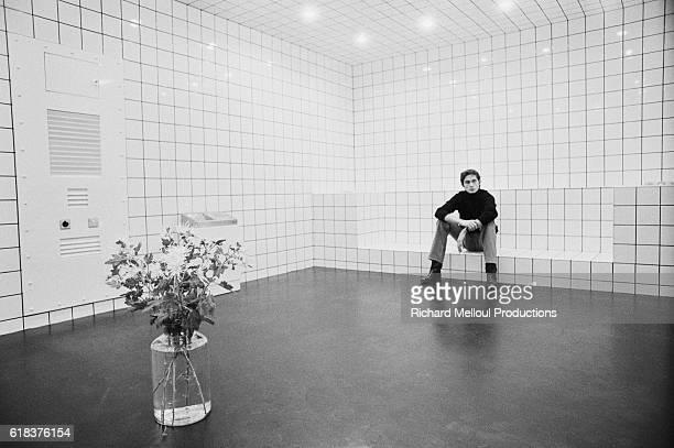 JeanPierre Raynaud Sits Inside His La Maison de La CelleSaintCloud