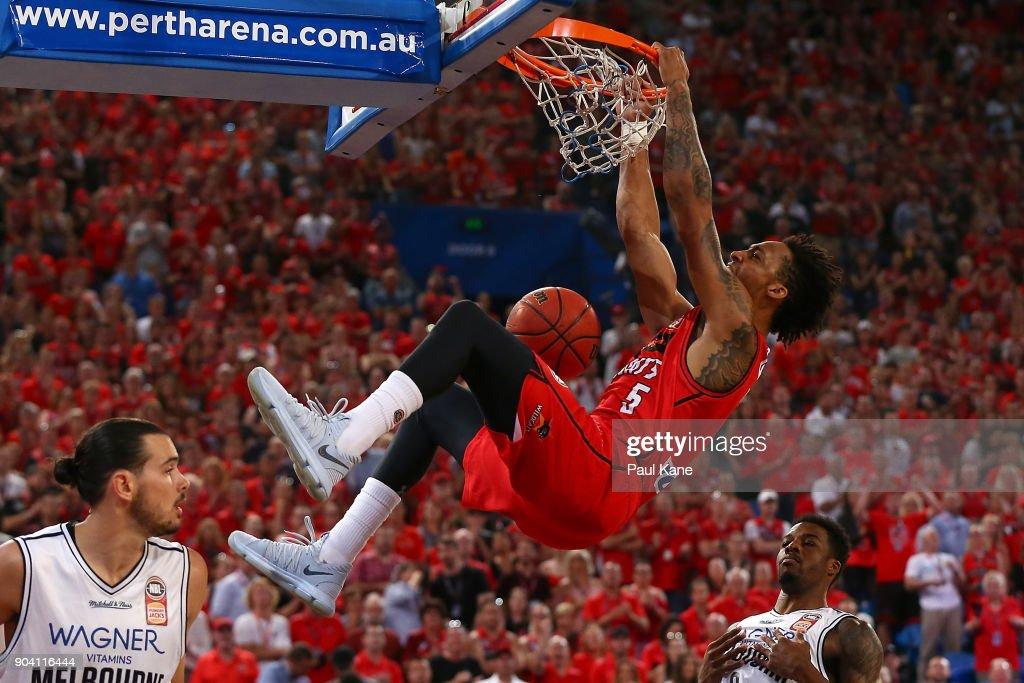 NBL Rd 14 - Perth v Melbourne