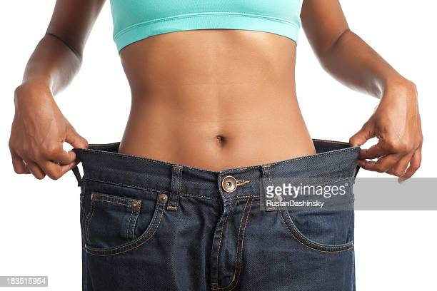 Jeans after weight loss.