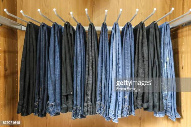 jeans - black trousers stock pictures, royalty-free photos & images