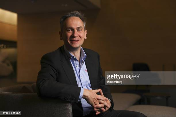 Jean-Sebastien Jacques, chief executive officer of Rio Tinto Ltd., poses for a photograph ahead of presenting the company's full-year results at the...