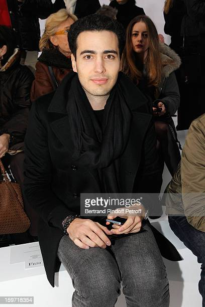 JeanVictor BettencourtMeyers attends the Dior Homme Men Autumn / Winter 2013 show as part of Paris Fashion Week at Quartier des Celestins on January...